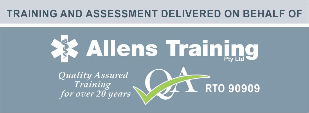 Training delivered by allens v2